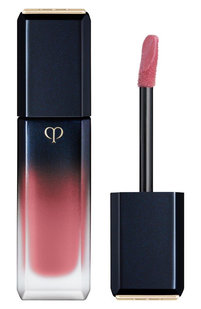 CLÉ DE PEAU BEAUTÉ Radiant Liquid Rouge Matte Liquid Lipstick, Main, color, QUIET STORM