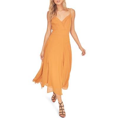 Astr The Label Lyric Sleeveless Maxi Dress, Yellow