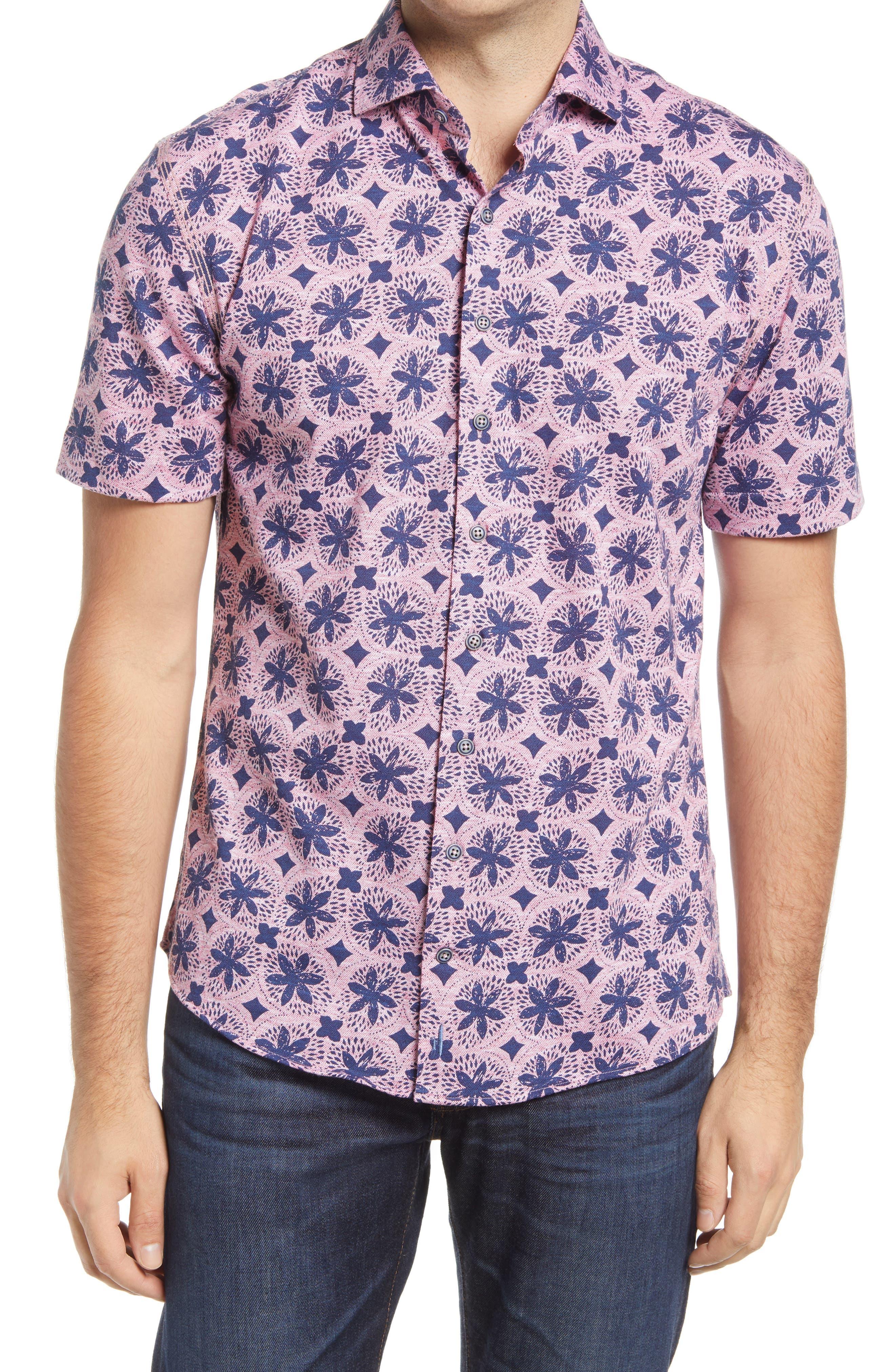 Codi Short Sleeve Button-Up Shirt