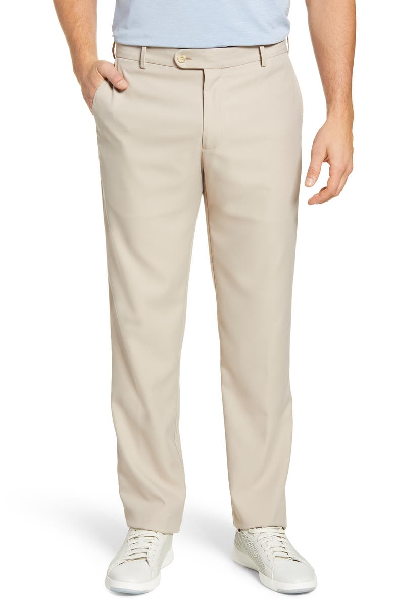 PETER MILLAR Durham Performance Pants, Main, color, KHAKI