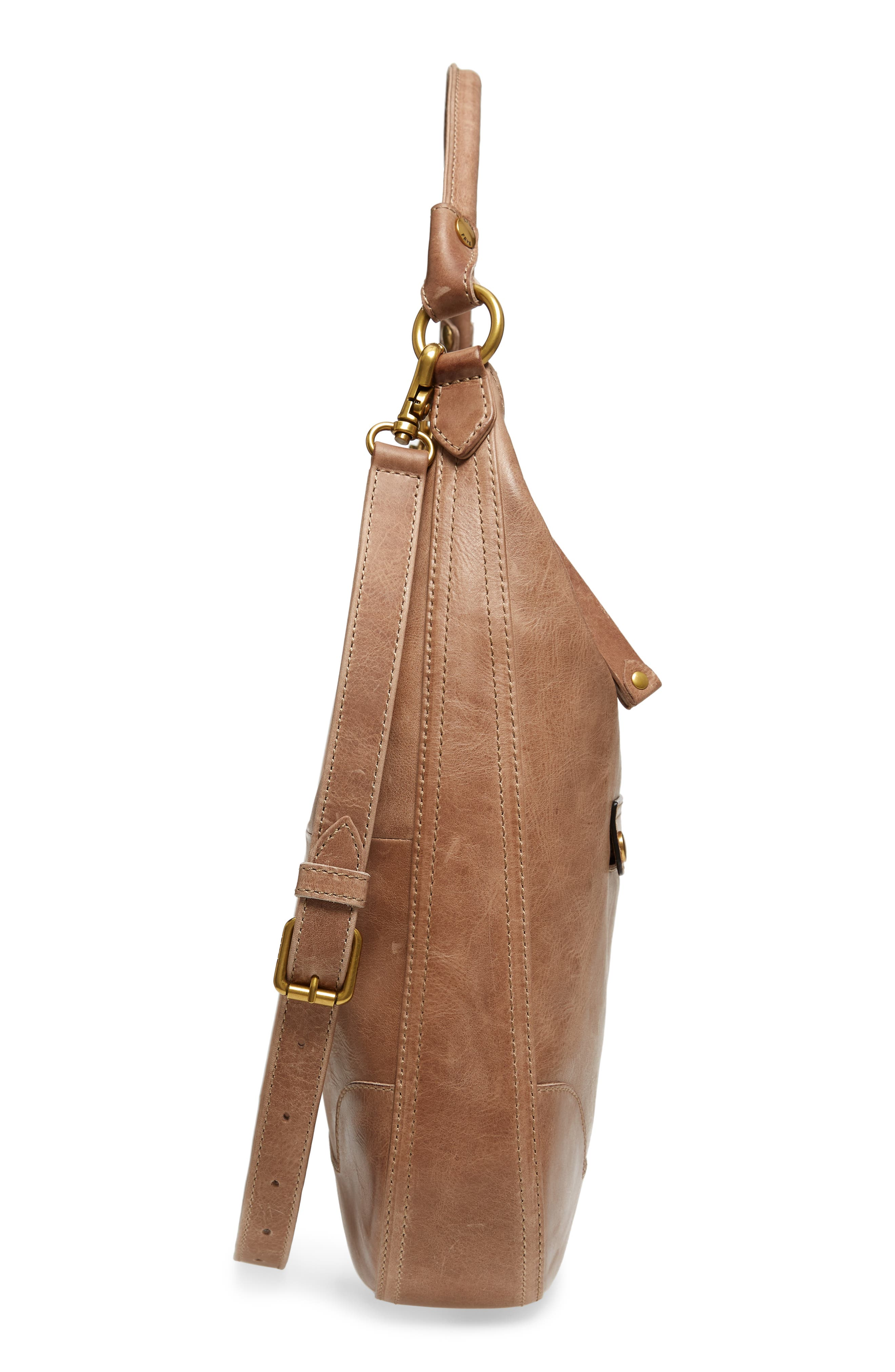 ,                             Melissa Large Leather Hobo,                             Alternate thumbnail 12, color,                             259