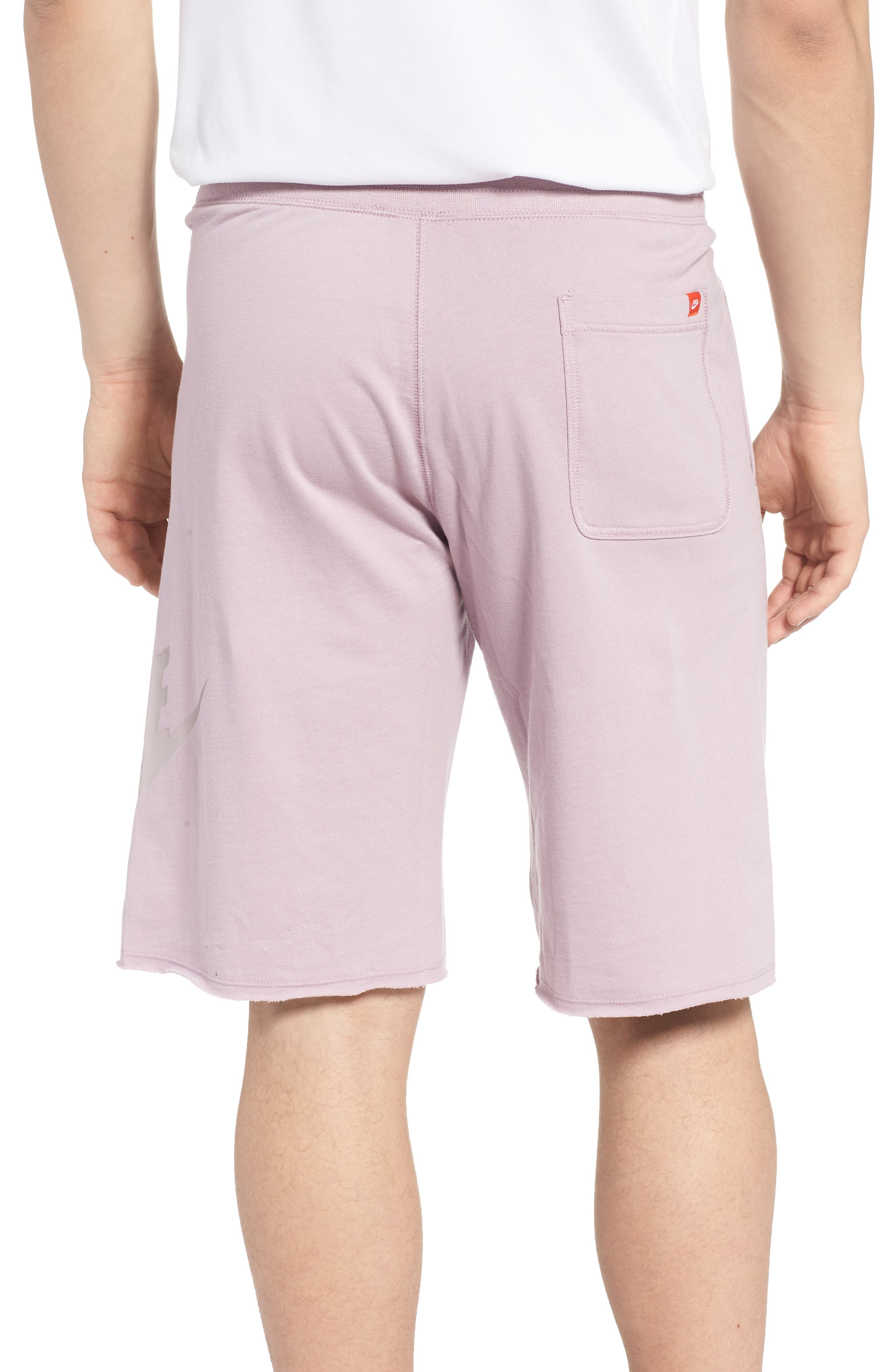 ,                             'NSW' Logo French Terry Shorts,                             Alternate thumbnail 2, color,                             694