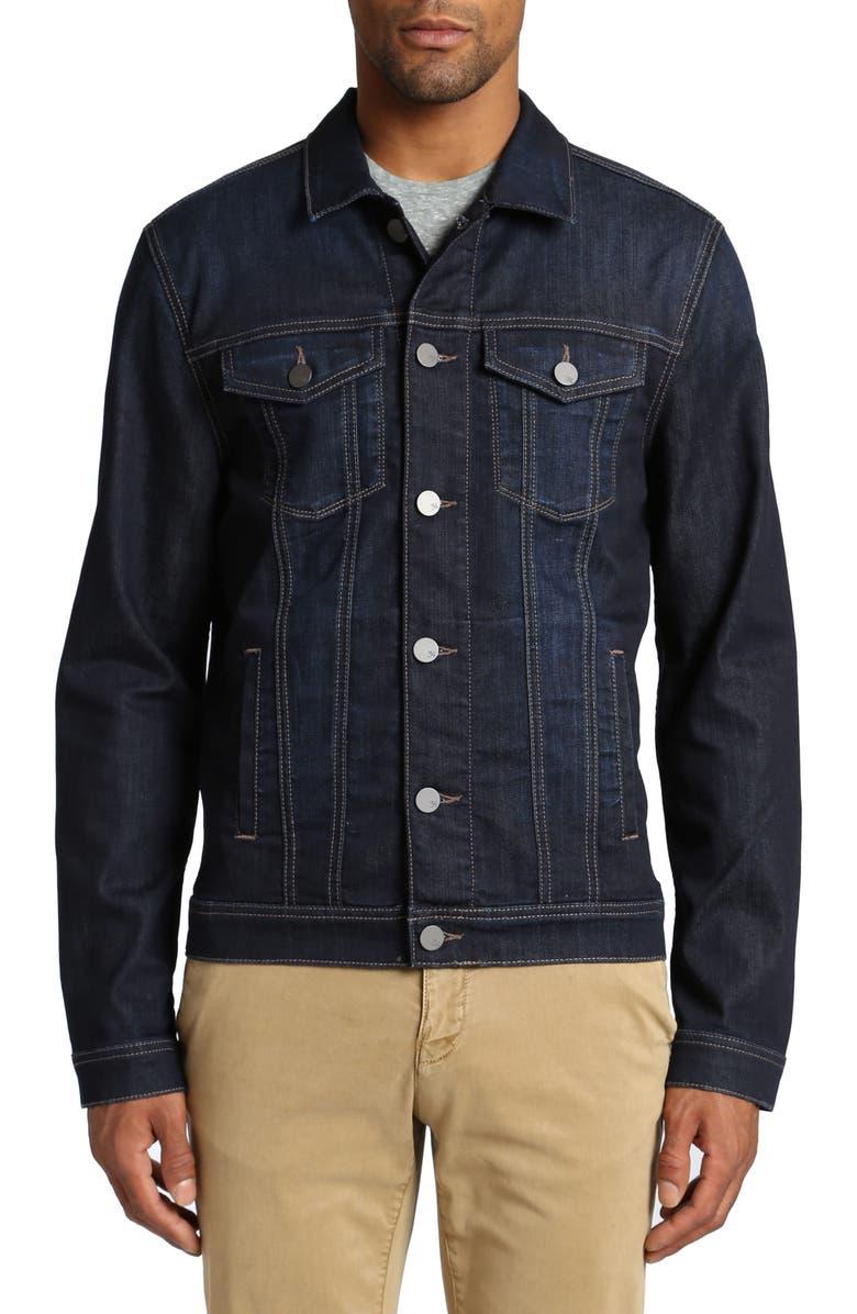 34 HERITAGE Travis Denim Jacket, Main, color, 401