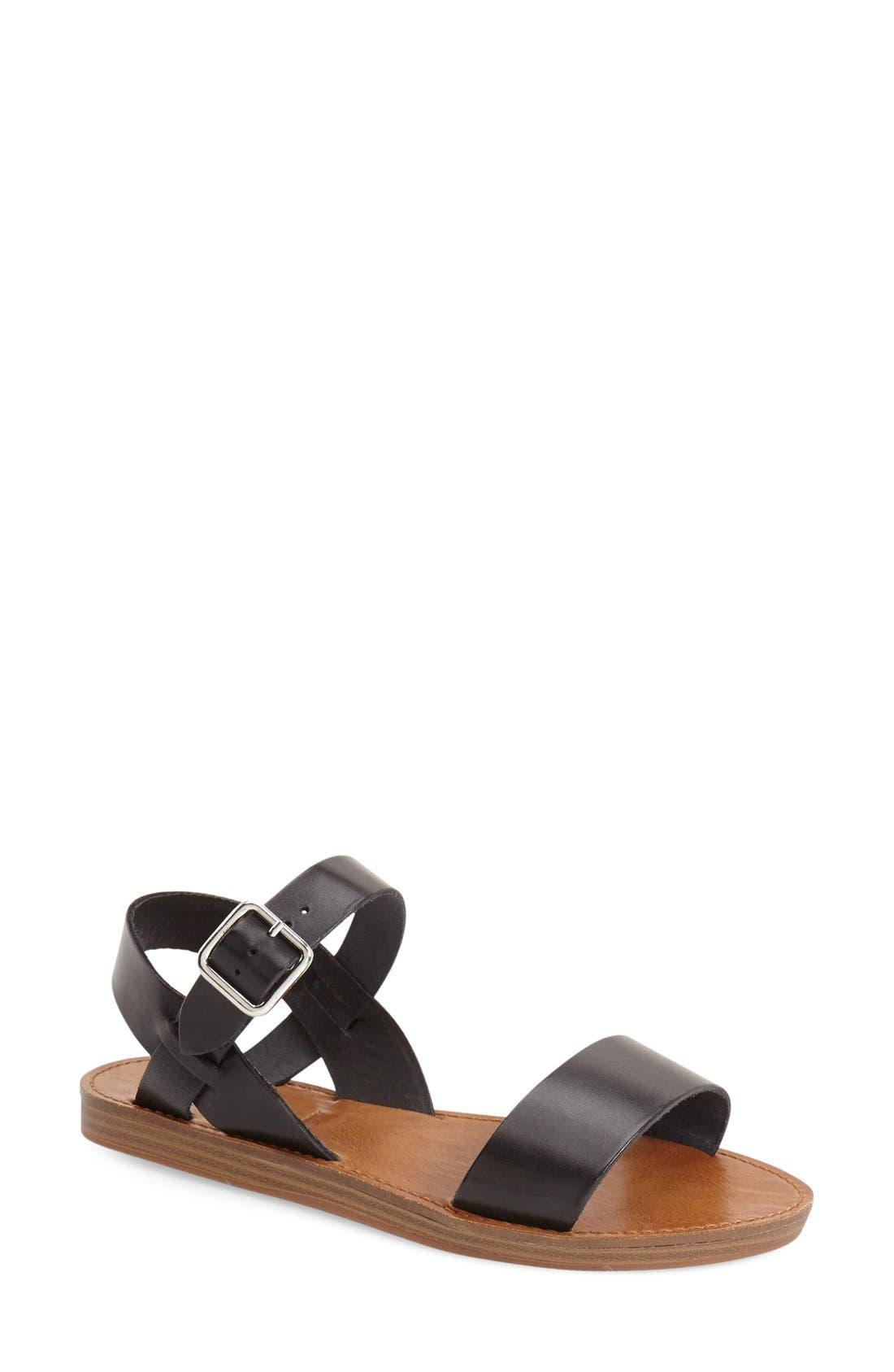 'Bestii' Sandal, Main, color, 001