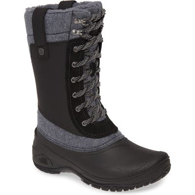 The North Face Shellista Iii Waterproof Insulated Winter Boot, Black