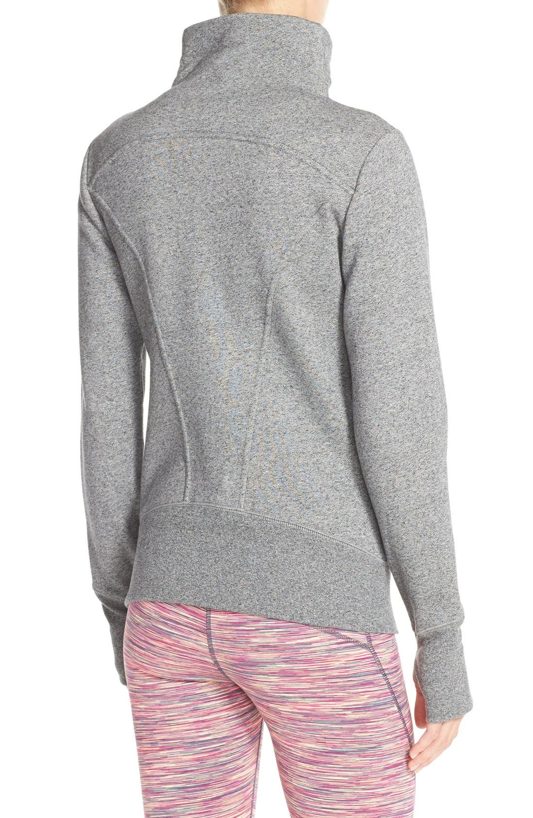 ,                             'Snowdrift' Asymmetrical Zip Sweatshirt,                             Alternate thumbnail 11, color,                             030