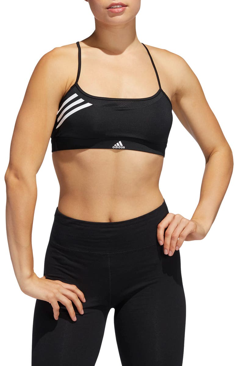 ADIDAS All Me Sports Bra, Main, color, 001
