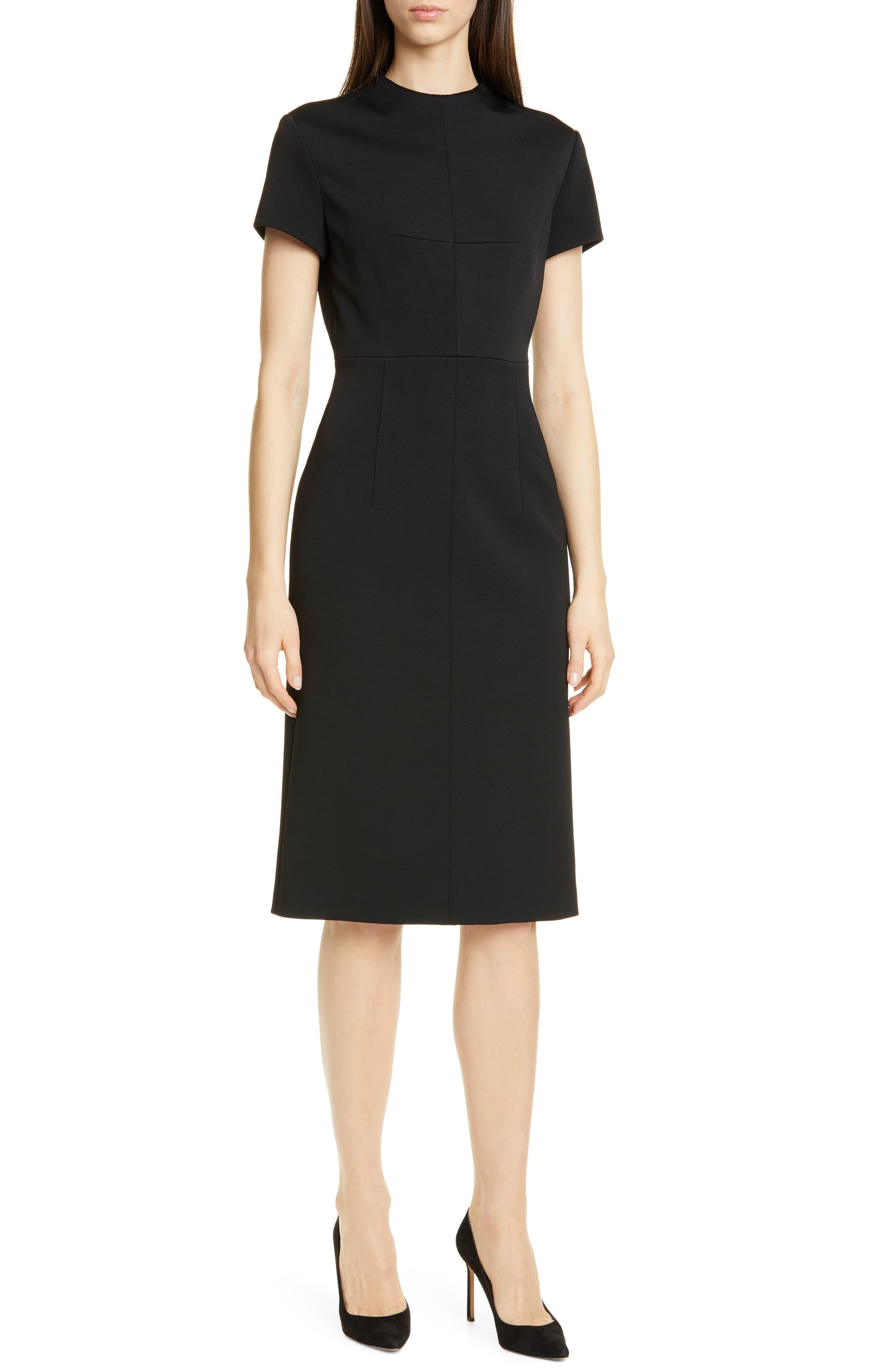 Boss Demiara Sheath Dress, Black