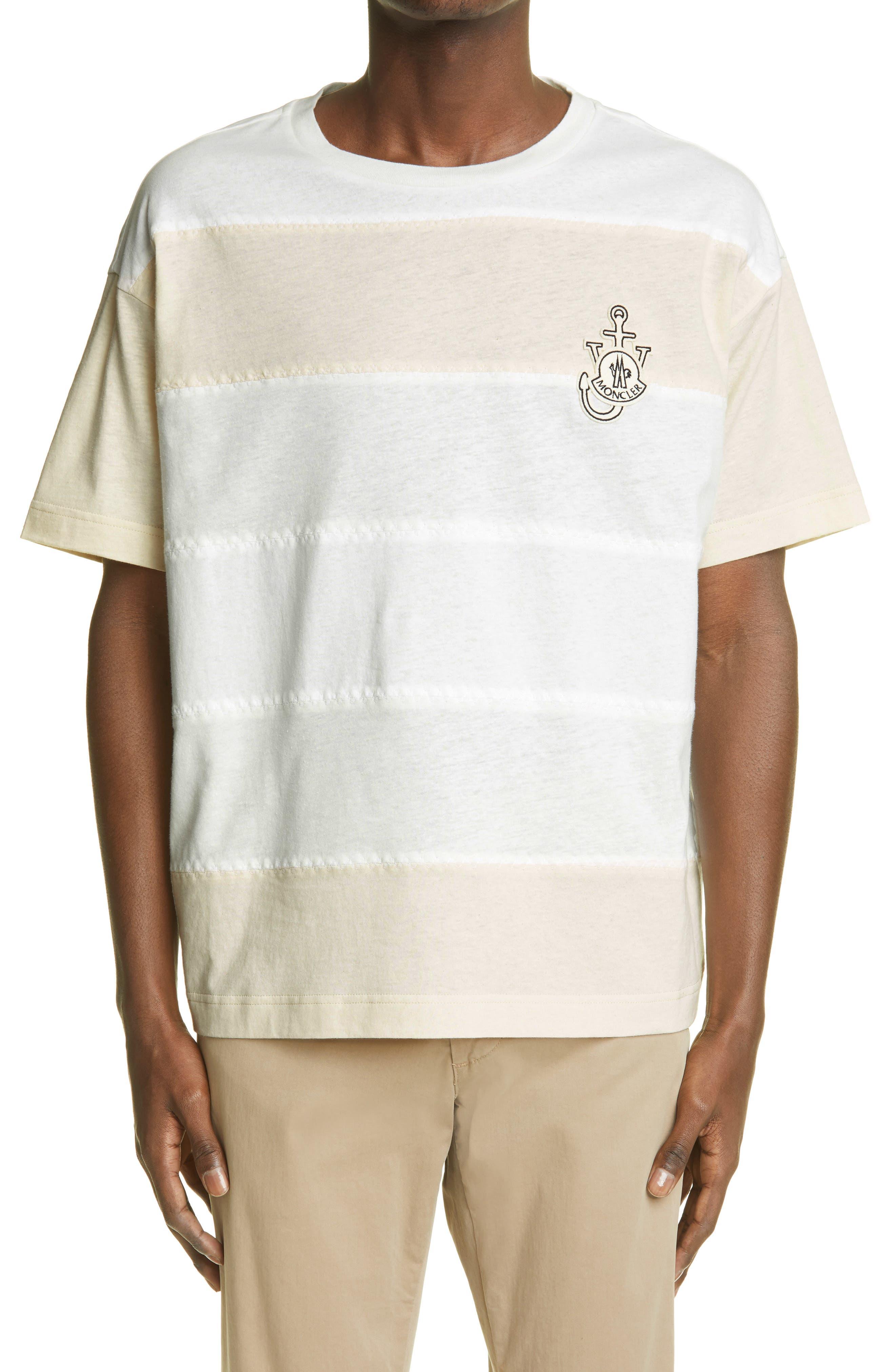 1 Moncler Jw Anderson Stripe T-Shirt