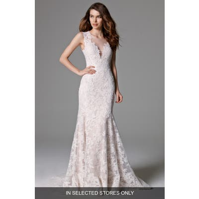 Watters Ashland Lace Mermaid Gown