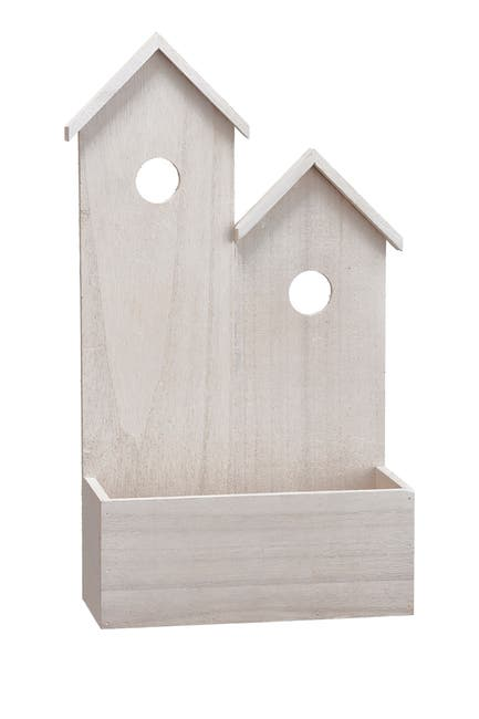 """Image of ALLSTATE 17"""" H x 9.5"""" W Wood House"""