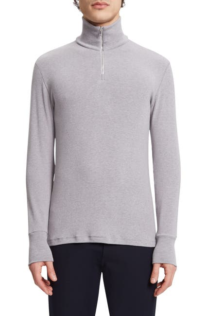 Image of Theory Layer Quarter Zip Pullover