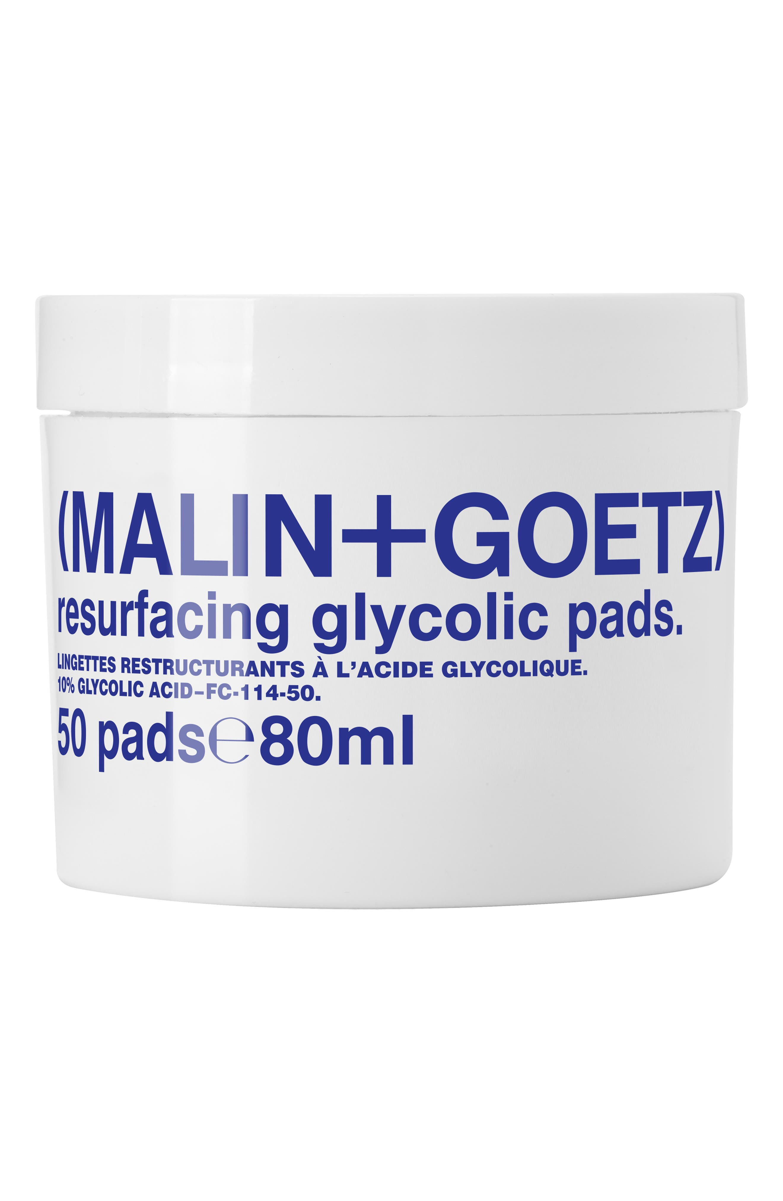 Malin+Goetz Resurfacing Glycolic Acid Pads