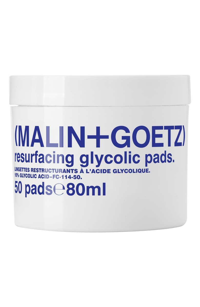 MALIN+GOETZ Resurfacing Glycolic Acid Pads, Main, color, NO COLOR