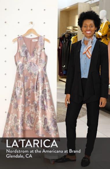 Floral Jacquard High/Low Ballgown, sales video thumbnail