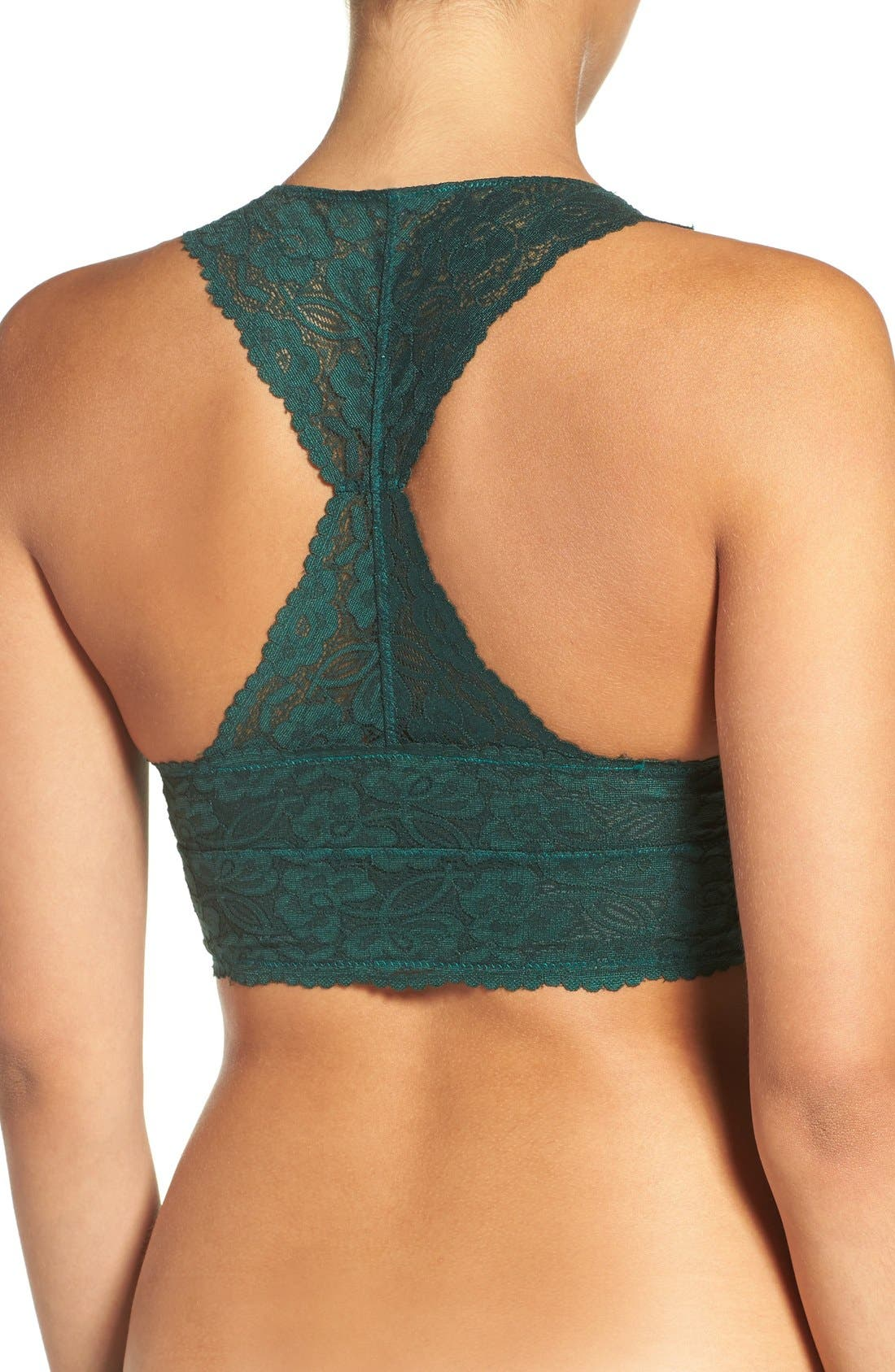 ,                             Racerback Galloon Lace Bralette,                             Main thumbnail 33, color,                             301