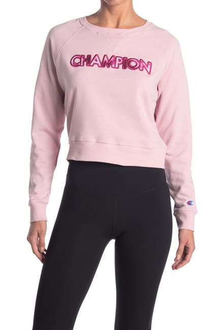 Image of Champion Campus French Terry Crew Neck Sweater