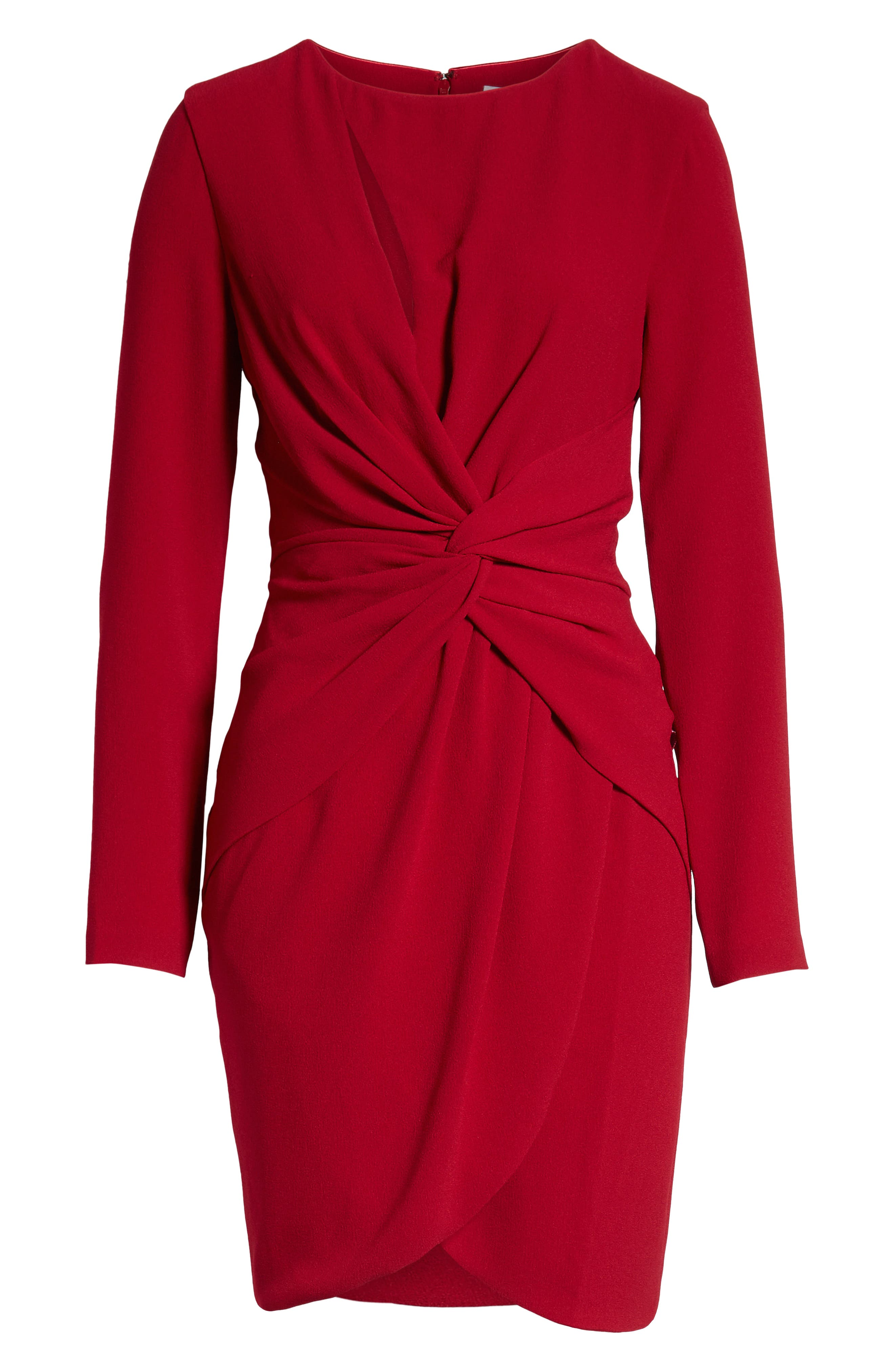,                             Coby Twisted Faux Wrap Cocktail Dress,                             Alternate thumbnail 19, color,                             600