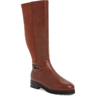 Sudini Frida Waterproof Knee High Boot, Brown