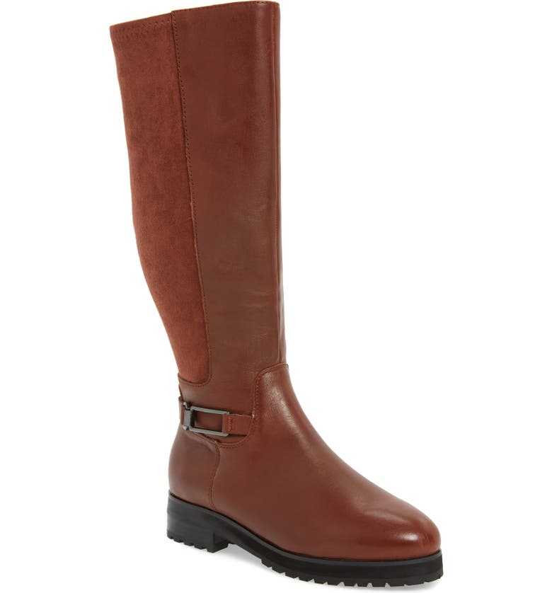 SUDINI Frida Waterproof Knee High Boot, Main, color, 201