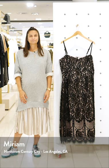 Sweet Darling Lace Cocktail Dress, sales video thumbnail