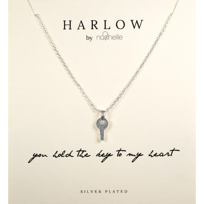 Harlow By Nashelle Key Boxed Necklace