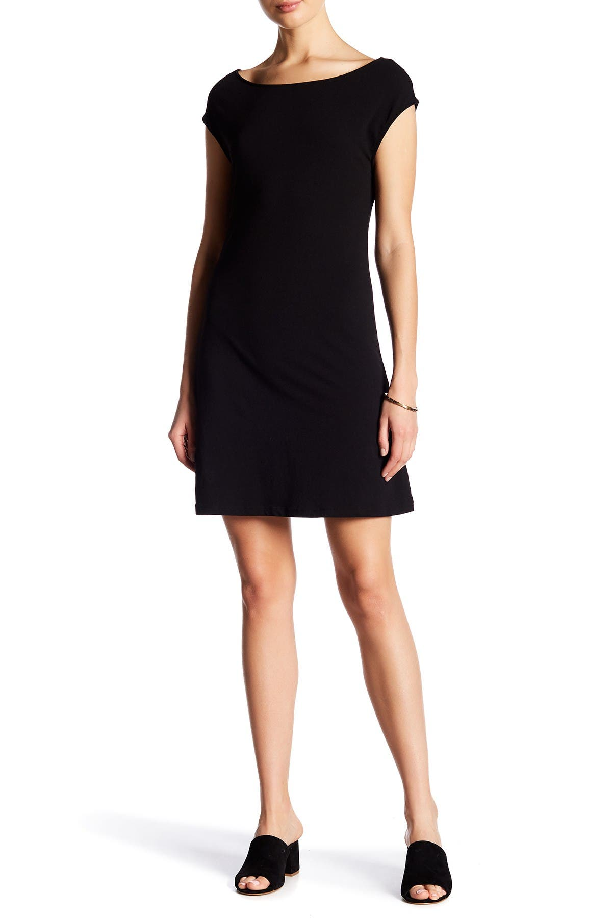 Image of James Perse Cap Sleeve Dress