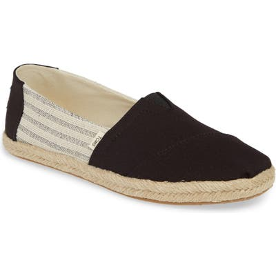 Toms Alpargata Slip-On B - Black