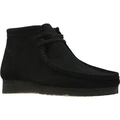 Clarks Originals Wallabee Boot, Black