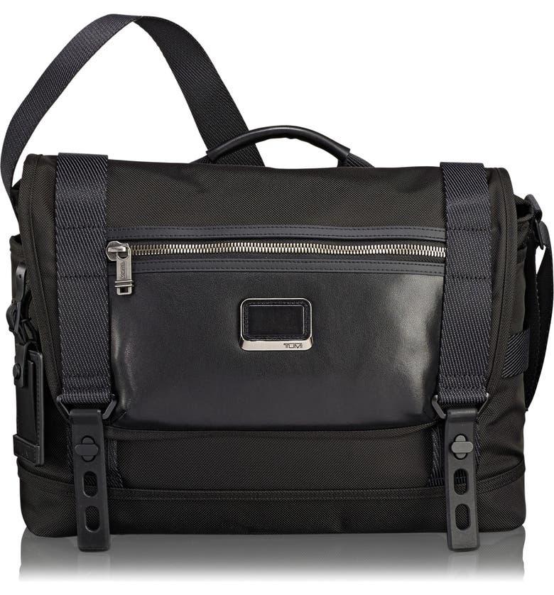 TUMI Alpha Bravo - Fallon Messenger Bag, Main, color, 001