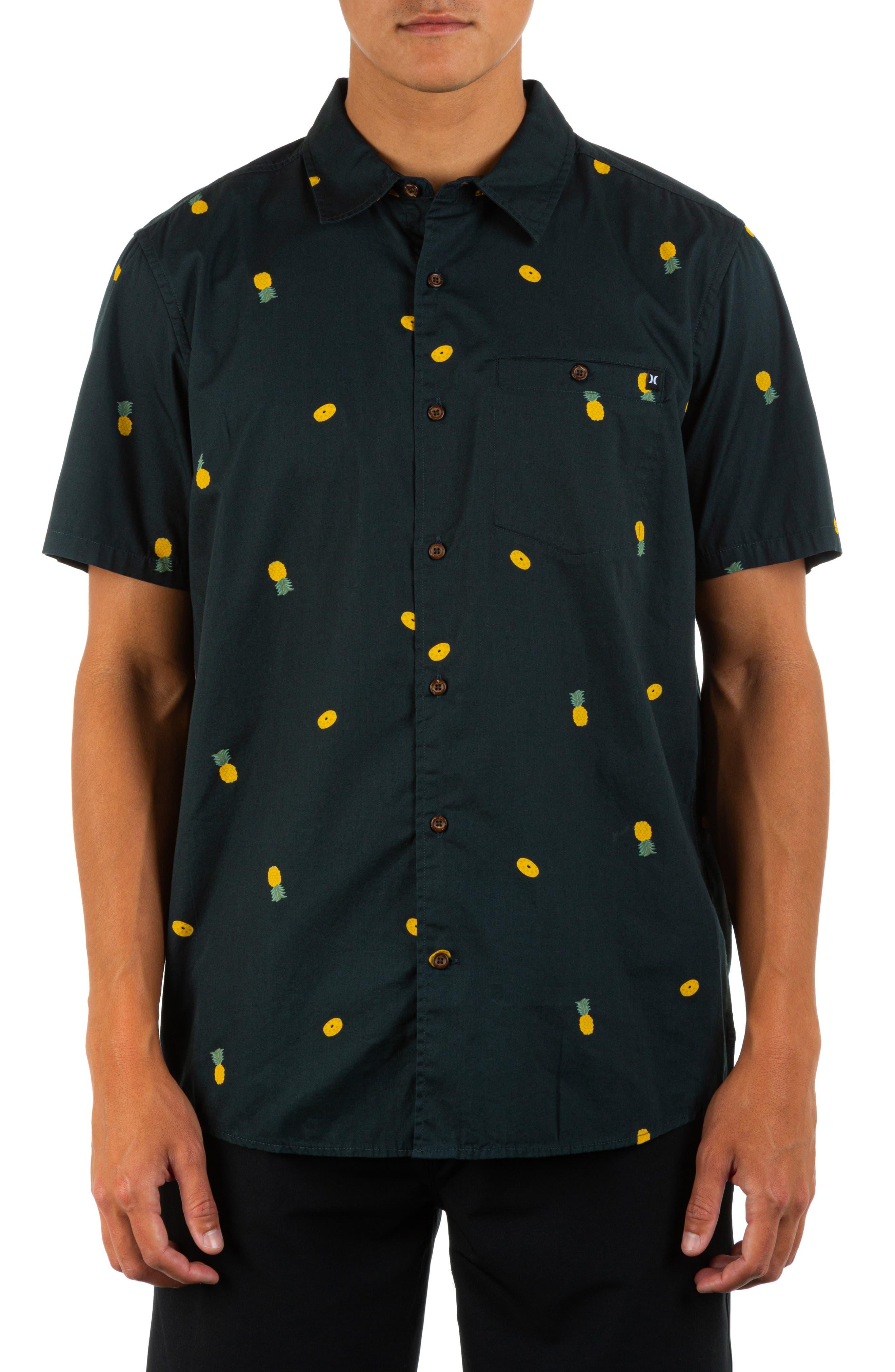 Windansea Short Sleeve Button-Up Shirt