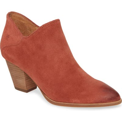 Frye Reed Bootie- Red