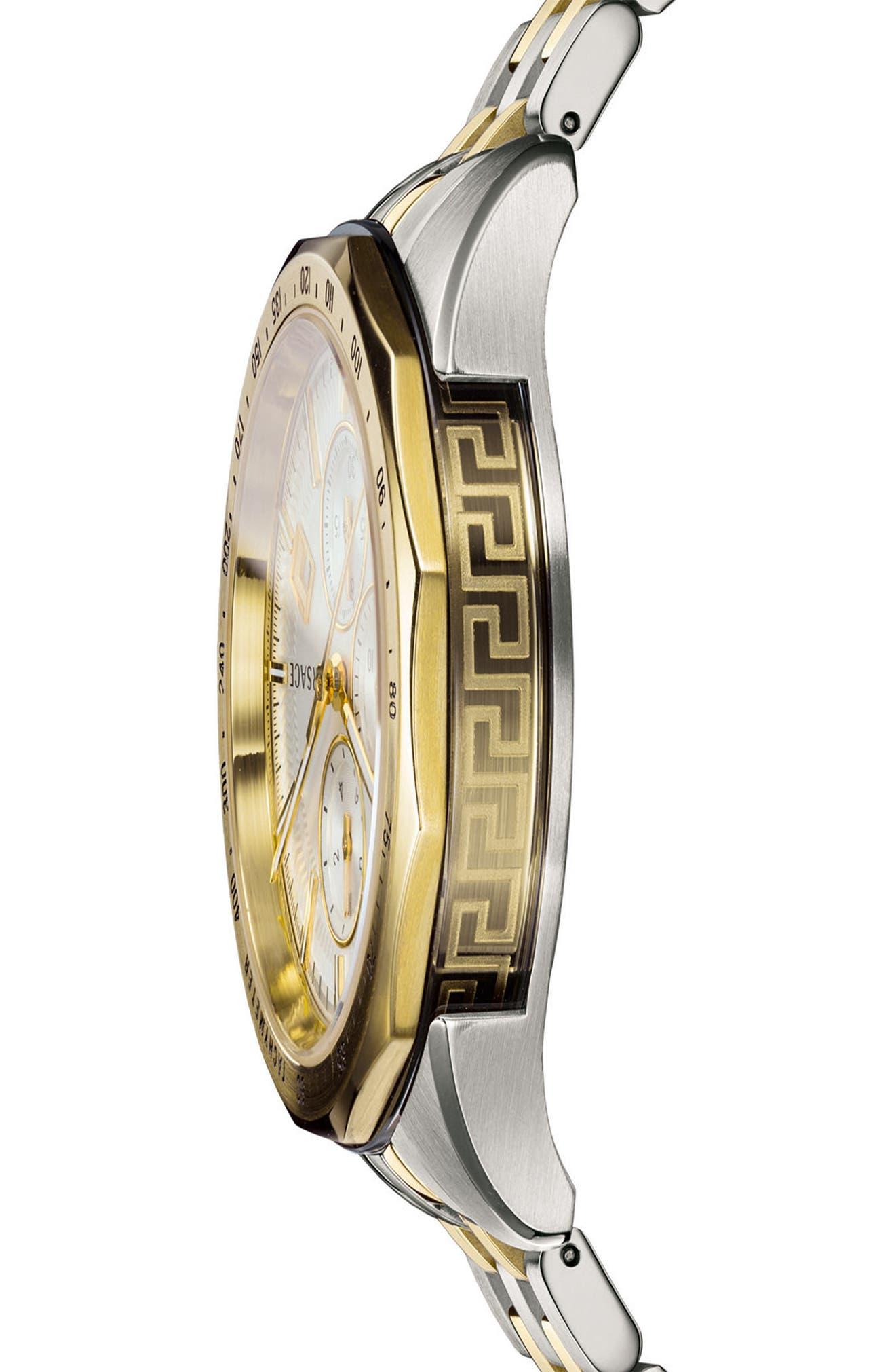 38ef9f6af Versace Glaze Chronograph Bracelet Watch, 44mm | Nordstrom