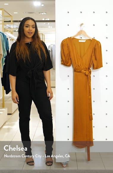 Francesca Wrap Midi Dress, sales video thumbnail