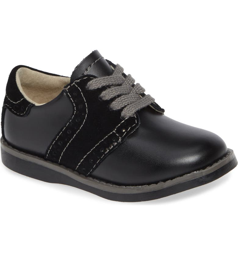 FOOTMATES Connor Oxford, Main, color, BLACK/ BLACK