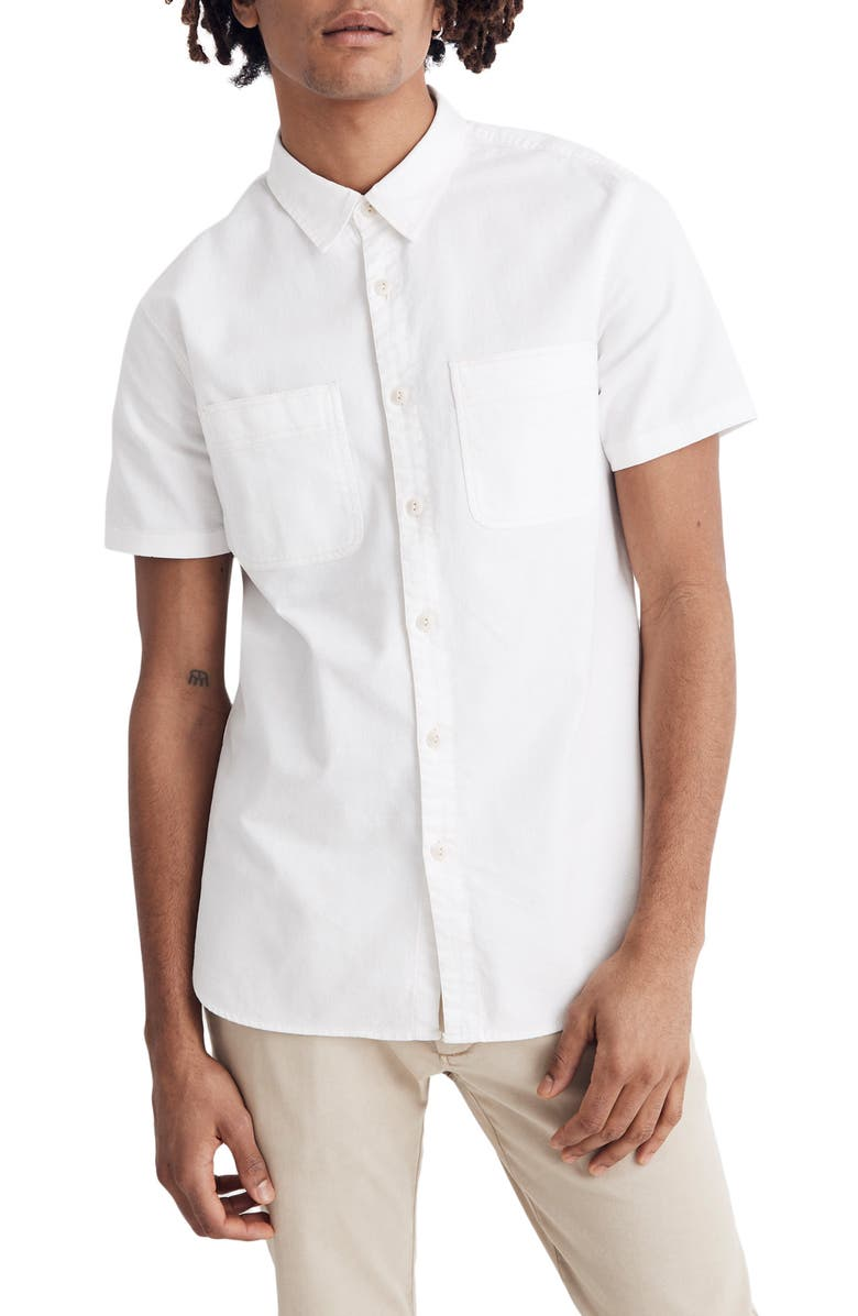 MADEWELL Slim Fit Work Shirt, Main, color, 250
