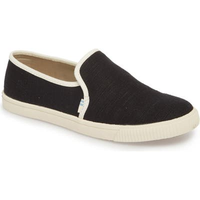 Toms Clemente Slip-On, Black