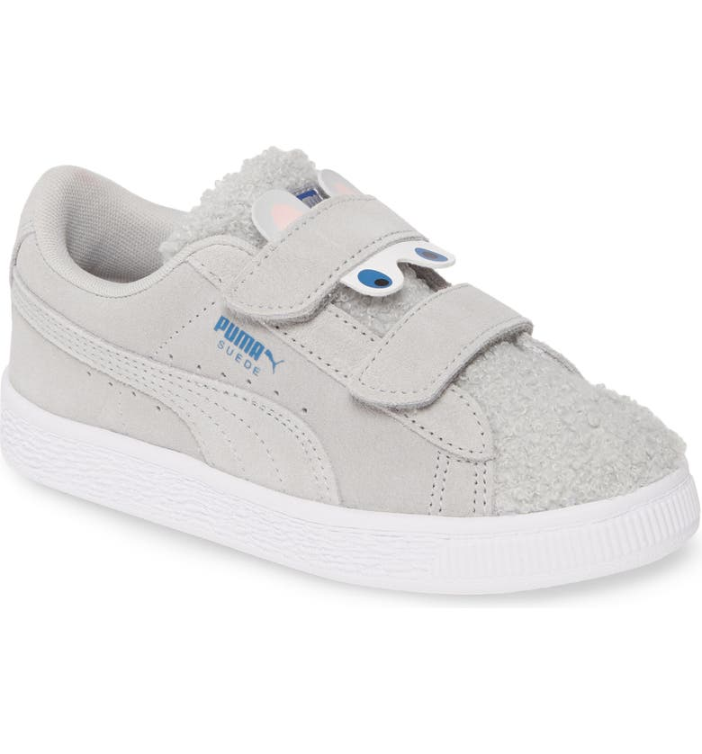 PUMA Suede Winter Monster V Sneaker, Main, color, HIGH RISE/ GALAXY BLUE