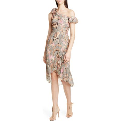 Ulla Johnson Uma One-Shoulder High/low Dress
