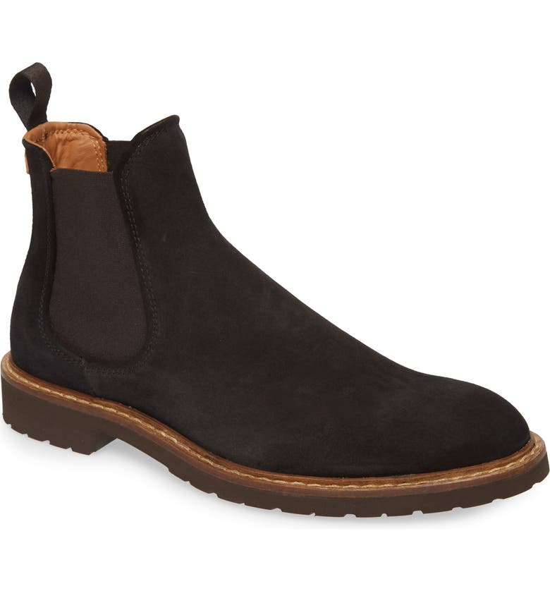 GOOD MAN BRAND Norwegian Chelsea Boot, Main, color, BLACK