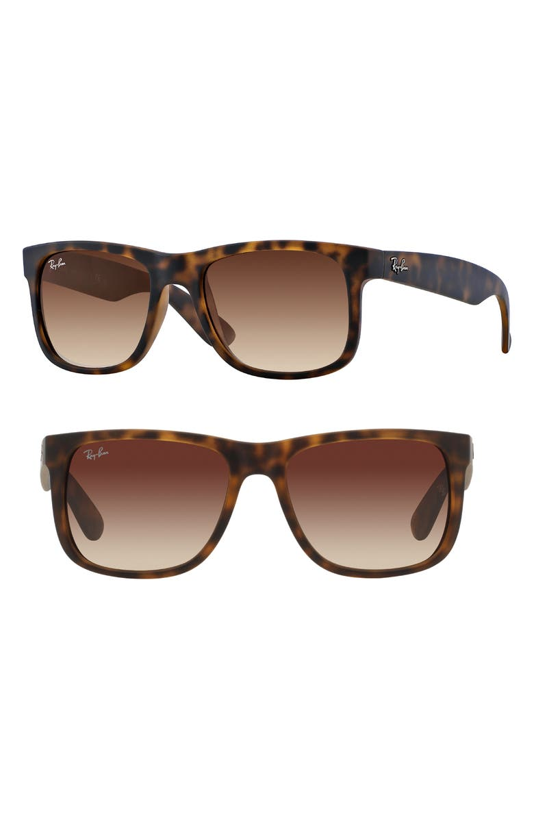 RAY-BAN Youngster 54mm Sunglasses, Main, color, TORTOISE