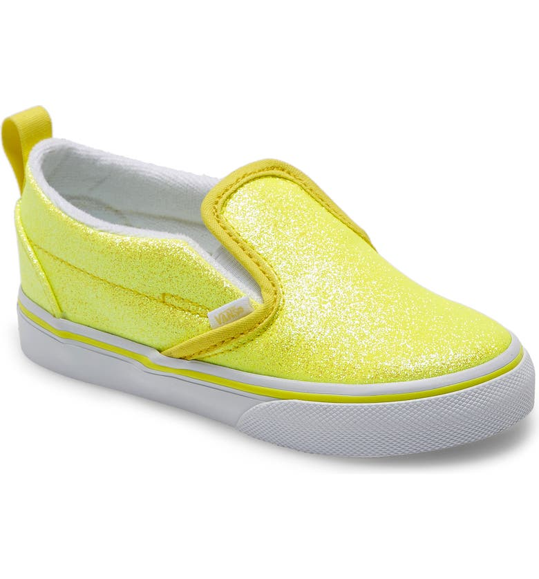 VANS Classic Slip-On, Main, color, YELLOW/ TRUE WHITE