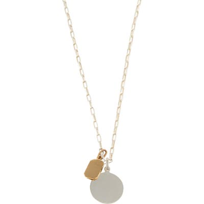 Loren Stewart Id Tag Necklace