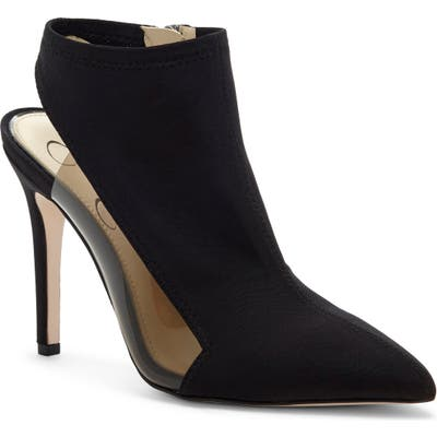 Jessica Simpson Pimrah Pointy Toe Bootie, Black