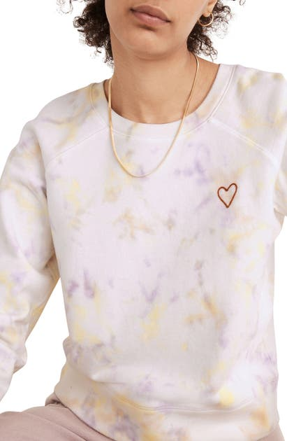 Madewell HEART EMBROIDERED