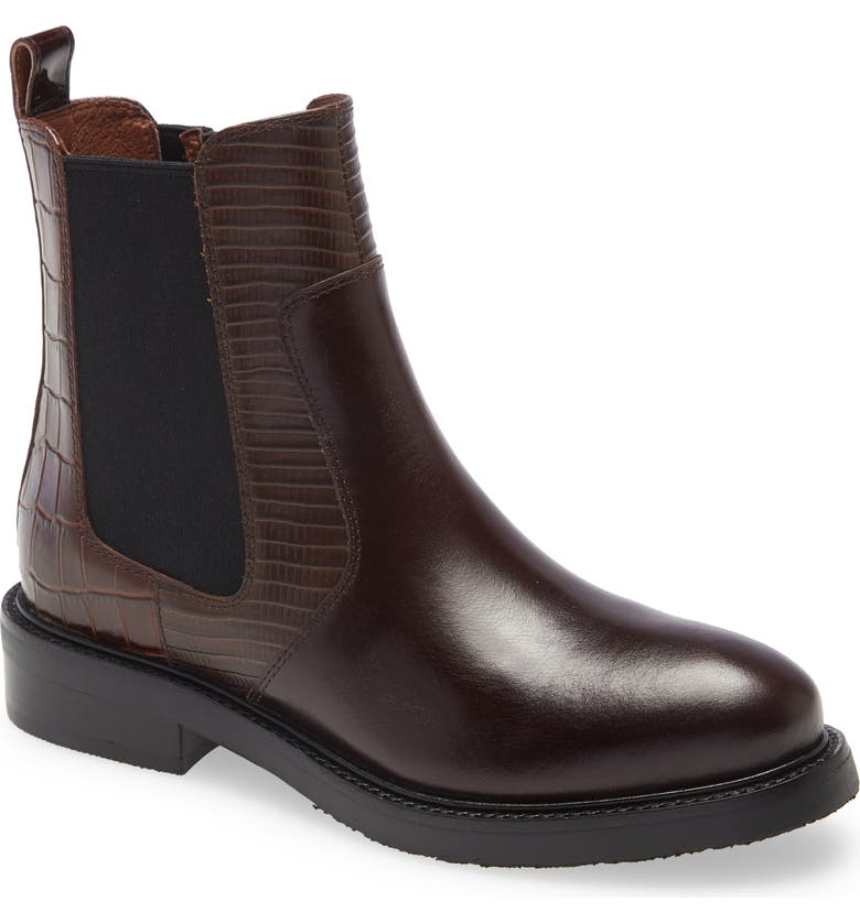 JEFFREY CAMPBELL Edmond Bootie, Main, color, BROWN COMBO
