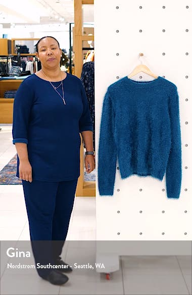 Feathered Knit Sweater, sales video thumbnail