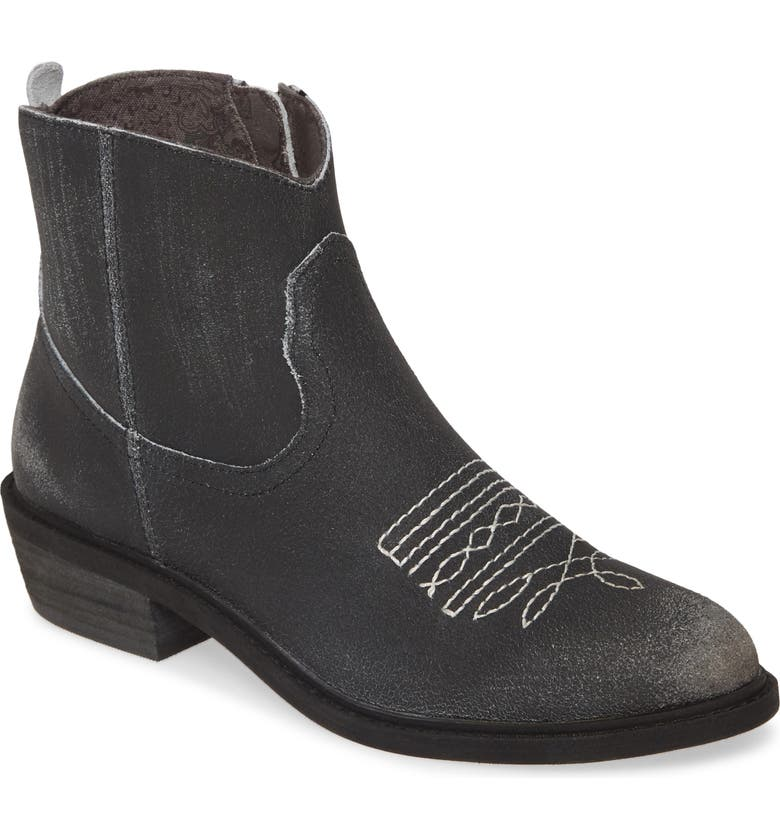 BAND OF GYPSIES Montrose Bootie, Main, color, BLACK CRACKLE LEATHER