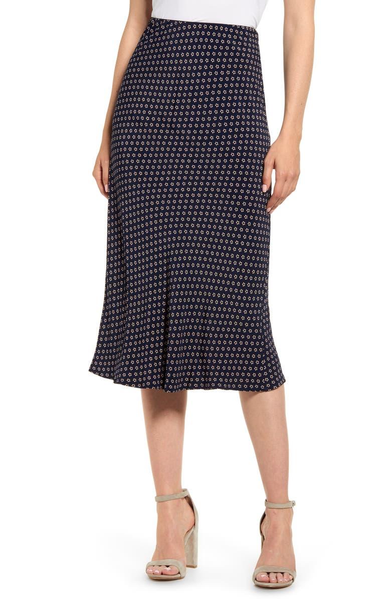 SANCTUARY Everyday Midi Skirt, Main, color, TWILIGHT