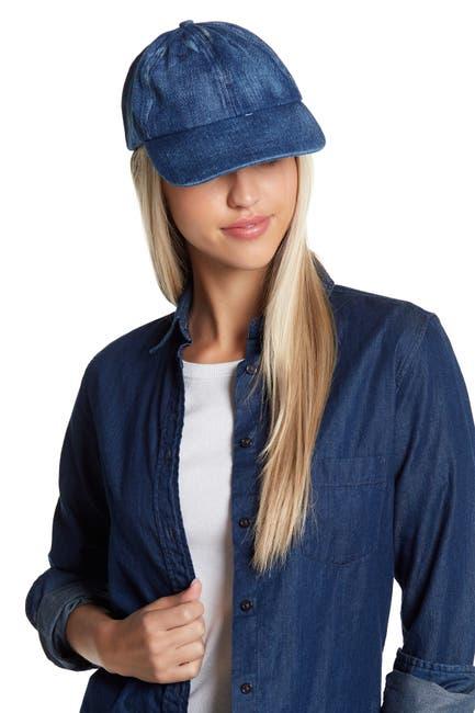 Image of Melrose and Market Washed Denim Baseball Cap